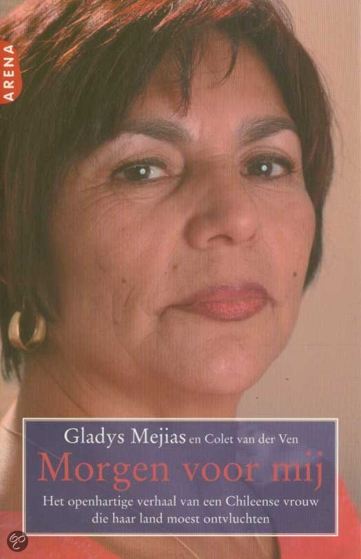 Ik loop het gemeentekantoor uit op weg naar de Coffee Company. Hier heb ik afgesproken met de Chileense Gladys Mejias. - morgen-voor-mij